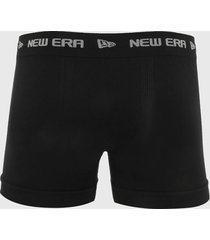 cueca new era boxer branded preta