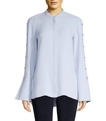 nicolette silk blouse
