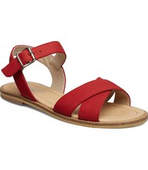 roselyn shoes summer shoes flat sandals röd pavement