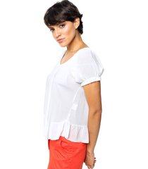 blusa natural asterisco alicia