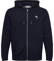 exploded icon sweatshirt hoodie trui blauw abercrombie & fitch