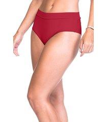calcinha sempre sensual lingerie tanga cós fio vermelho