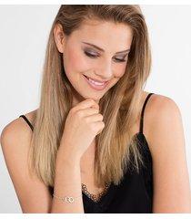 thomas sabo women's bracelet - white/silver