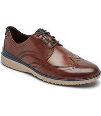 zapatos rockport oxford dp accel wingtip-cafe