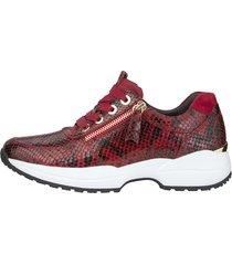 sneakers gabor röd