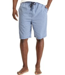nautica men's woven plaid shorts