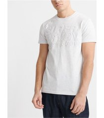 superdry men's embossed pastel line t-shirt