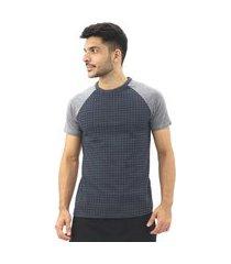 camiseta masculina old school gola redonda manga curta verão