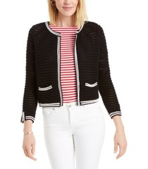 charter club pointelle sweater, created for macy's