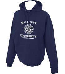 gallifrey university unisex pullover hoodie navy blue s to 3xl doctor who