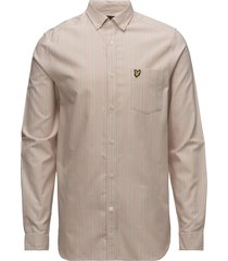 ls deckchair stripe shirt overhemd business roze lyle & scott
