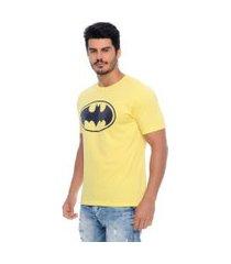 camiseta masculina batman emporio alex malha amarelo