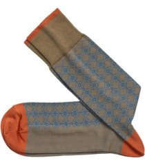 johnston & murphy diamond pattern grid socks