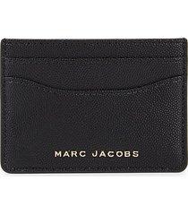 marc jacobs women's pebbled card holder - deep purple
