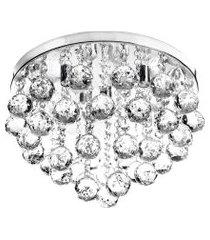 lustre de cristal legitimo redondo classic round 32 x 25