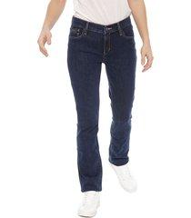 jeans calvin klein jeans azul - calce ajustado