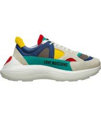 scarpe sneakers donna camoscio