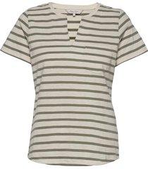 gesinapw ts blouses short-sleeved grå part two