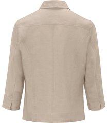 blouse 100% linnen 3/4-mouwen van peter hahn beige