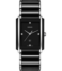 rado integral diamond ceramic bracelet watch, 31mm x 41.1mm