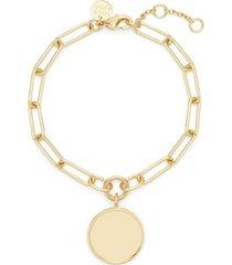 brook & york 14k gold plated callie bracelet