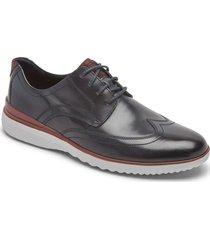 zapatos rockport oxford dp accel wingtip-azul