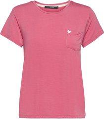 softness t-shirt t-shirts & tops short-sleeved rosa missya