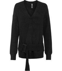 maglione a portafoglio (nero) - rainbow
