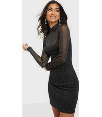 nly trend sparkling mesh mini dress fodralklänningar