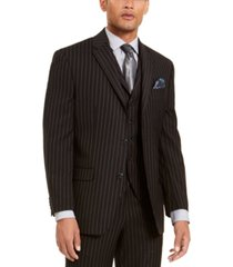 sean john men's classic-fit stretch suit separate jackets