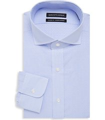 classic-fit fine stripe dobby dress shirt