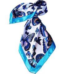 pañuelo bandana mariposas azules viva felicia