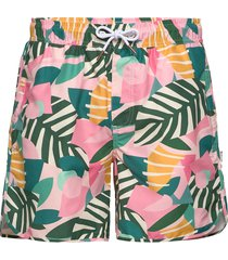 swim shorts sandhamn collage leaves badshorts multi/mönstrad dedicated