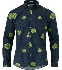 skjorta floral print shirt l/s