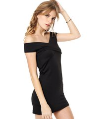 vestido negro felisa olivia