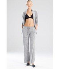 natori ulla pants, women's, grey, size s natori