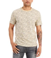 inc international concepts men's ditsy floral print t-shirt, created for macy's