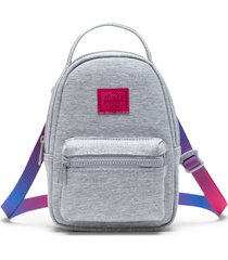 herschel supply co. nova crossbody backpack - grey