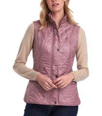 barbour quilted fleece-lined vest