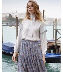 bluzka elegancka z plisem