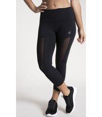 calza mid-rise capri negro bsoul