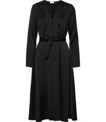 2nd cherine knälång klänning svart 2ndday