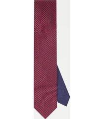tommy hilfiger men's slim wid pattern tie red/navy/white -