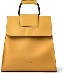 mochila amarilla amphora valise