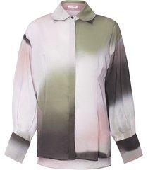 koszula fangor print dart shirt