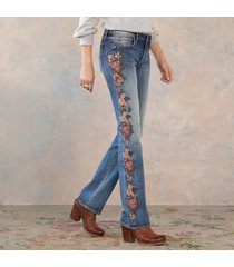 kelly cascading roses jeans