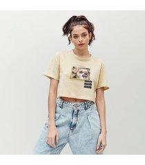 camiseta amplia corta manga corta bolonc