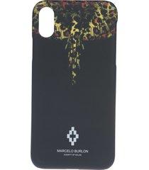 marcelo burlon leopard wings iphone x case