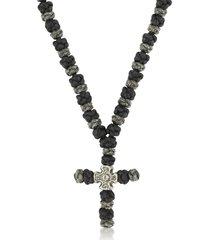 be unique designer men's necklaces, cross necklace 100 antique