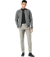alpha chino tapered fit trousers